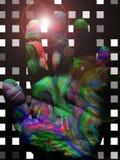 Vibrant Color Hand Stock Image