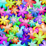 Vibrant color spring Stock Image
