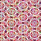 Vibrant colored stars pattern Stock Photo
