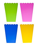 Vibrant Colored Treat Boxes Royalty Free Stock Image