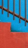 Vibrant colorful abstract architecture detail Stock Photo