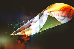 Vibrant colorful abstract background Royalty Free Stock Images