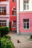 Colorful buildings in Old Riga city, Latvia Royalty Free Stock Images