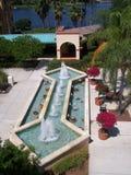 Courtyard fountian Coronado Springs Disney Resort Florida stock photos