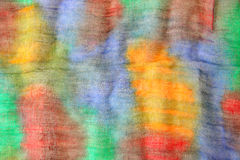 Vibrant colors background. On textile Royalty Free Stock Image