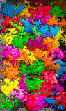 Vibrant colors splash background Royalty Free Stock Photos