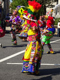 Vibrant Costume at the Festival Royalty Free Stock Photo