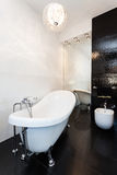 Vibrant cottage - Original bathroom Stock Images