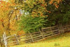 Vibrant countryside autumn landscape Stock Photo