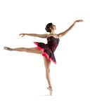 Vibrant Dancer #6. This is an image of a vibrant young female dancer of latin heritage Royalty Free Stock Image