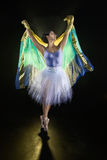 Vibrant Dancer #8. This is an image of a vibrant young female dancer of latin heritage Royalty Free Stock Photo