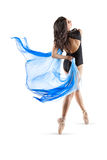 Vibrant Dancer #9. This is an image of a vibrant young female dancer of latin heritage Stock Image
