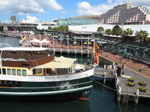Vibrant Darling Harbour Royalty Free Stock Images