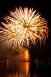 Vibrant  firework Royalty Free Stock Image