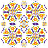 Vibrant Floral Pattern 2 Stock Image