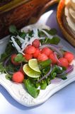 A vibrant fresh summer salad Stock Photo