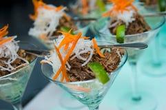 A vibrant fresh summer salad Royalty Free Stock Image