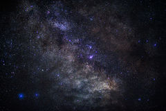 Vibrant Galaxy. Its a closeup photo of milkyway galaxy Royalty Free Stock Photography