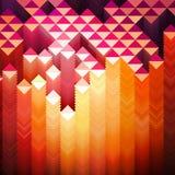 Vibrant Geometric Background Royalty Free Stock Images