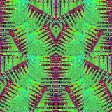 Vibrant Geometric Futuristic Pattern Royalty Free Stock Photography