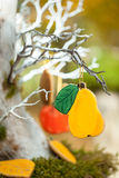 Vibrant autumn in a park Stock Photography