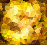 Vibrant gold background Stock Photo
