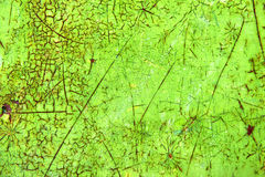 Vibrant green abstract painting, grunge texture background Royalty Free Stock Images