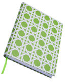 Vibrant Green Blank Journal Royalty Free Stock Image