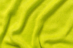 Vibrant green textile pattern as a background. Royalty Free Stock Photos