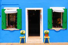 Vibrant house front Stock Images