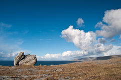 Vibrant  irish scenic coastal seascape Stock Photography