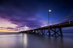 Vibrant Jetty Stock Images