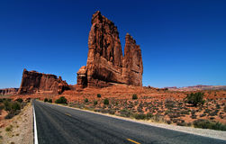 Vibrant landscape capture from utah arches Stock Images
