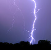 Vibrant Lightning Bolt Stock Photo