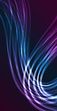 The vibrant lines abstraction Stock Images