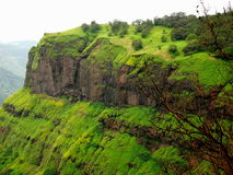 Vibrant Matheran mountain top. Royalty Free Stock Photo