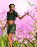 Vibrant meadows Stock Photos