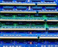Vibrant memory. Laptop memory stack in colorful arrangement Stock Images