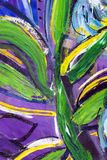Painting detail Royalty Free Stock Images
