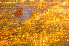 Vibrant oil painting on canvas background Royalty Free Stock Photography