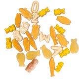 Vibrant orange jelly candy Royalty Free Stock Photography