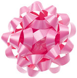 Vibrant Pink Gift Bow Royalty Free Stock Photo