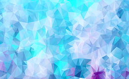 Vibrant polygonal background Royalty Free Stock Photos