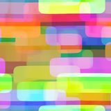 Vibrant Rectangle Repeating Textile Pattern. A vibrant watercolor ink seamless rectangle pattern Stock Illustration