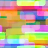 Vibrant Rectangle Repeating Textile Pattern stock illustration