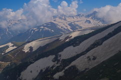 Vibrant scene at 2nd Phase in Gulmarg-2 Royalty Free Stock Photos