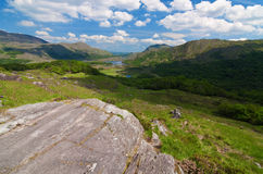 Vibrant scenic landscape from the west of ireland Royalty Free Stock Images