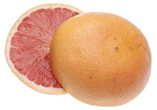 Vibrant Sliced Grapefruit Royalty Free Stock Photography