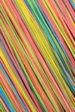 Small rubberband strips diagonal pattern. Vibrant small rubber strips arranged in diagonal pattern Stock Photography