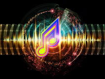 Vibrant Sound Royalty Free Stock Photos
